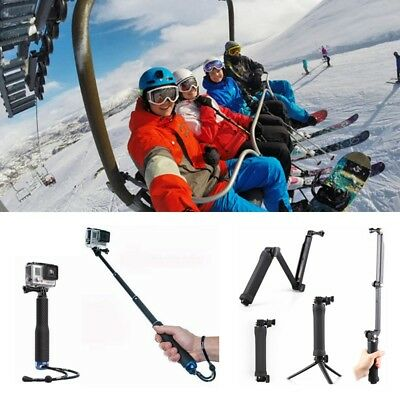 GoPro Monopod Pole Selfie Stick Tripod 3 feets Stand For Go Pro HD Hero 6 5/4/3+