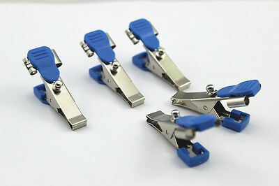 20 SETS Veterinary ekg/ecg alligator electrode clip