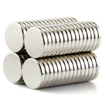 Super Strong Round Disc Magnets  Rare-Earth Neodymium Cylinder Magnet Set