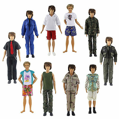 Lot 5 PCS Fashion Outfits/Clothes For 12 inch Ken Doll Y01
