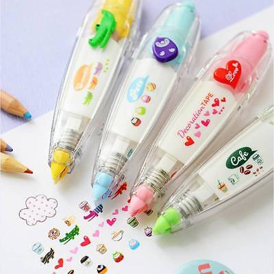 Creative Stationery Pressed Lace Cute Correction Tape DIY Diary Decorated