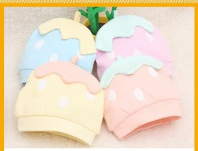 Cute Strawberry Baby Kids Cotton Hat Toddler Cap Spring Beanie Hat Boy Girl Pull