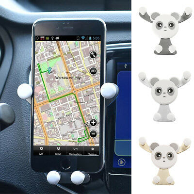 Universal Gravity Car Mount Air Vent Holder Stand GPS For Cell Phone Samsung