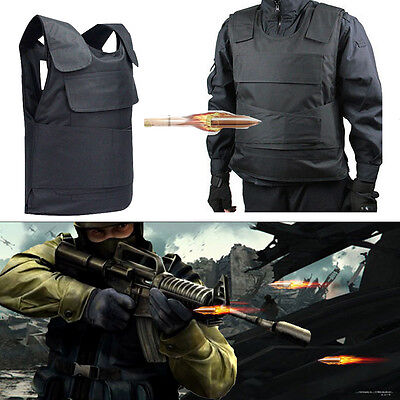 UK Bulletproof Vest Plate Knife Stab Proof Anti-stab Body Armour Defence Jacket