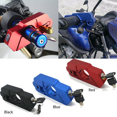 Professional Motorcycle Handlebar Grip Lock Aluminum Brake Security Locks