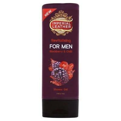 ** 2 X CUSSONS IMPERIAL LEATHER REVITALISING FOR MEN SHOWER GEL 250ml CHILLI