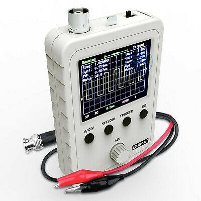 "New 2.4"" LCD Display DSO150 Digital Oscilloscope Assembled With Case Test Clip"