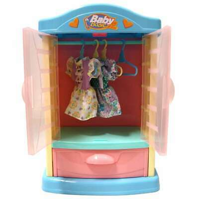 Baby Doll Wardrobe Play Set