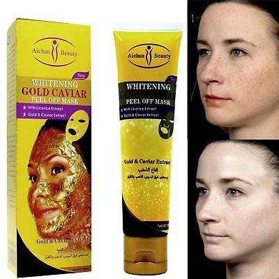 Aichun Whitening Gold Caviar Peel off Mask Fights For Face Rejuvenation 120ml
