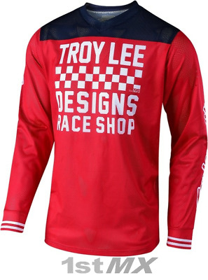 Troy Lee Designs TLD GP AIR Raceshop Red MX Motocross Race Jersey Adults Large