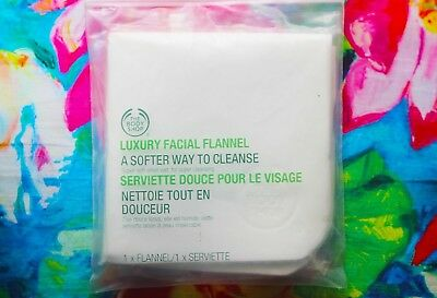 New Vegetarian The Body Shop Face Chamois Cloth Luxury Fabric Makeup Remover