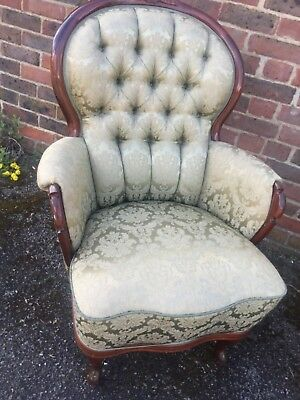 Vintage Louis style French Antique Armchairs