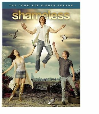 Shameless Season 8  DVD, 2018   NEW 3 disc USA Seller Free Shipping