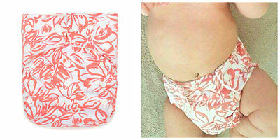 1 KaWaii Baby One Size Goodnight Heavy Wetter Cloth Diaper + 1 Bamboo Insert