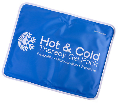 Large Cold Therapy Pad Reusable Gel Ice Pack Pain Relief Sport Back Leg Fitness