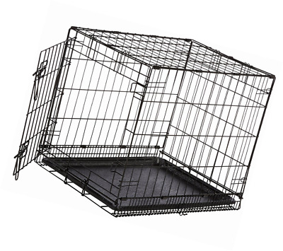 Midwest iCrate Folding Metal Dog Pet Crate Cage Single Door Medium Size NEW