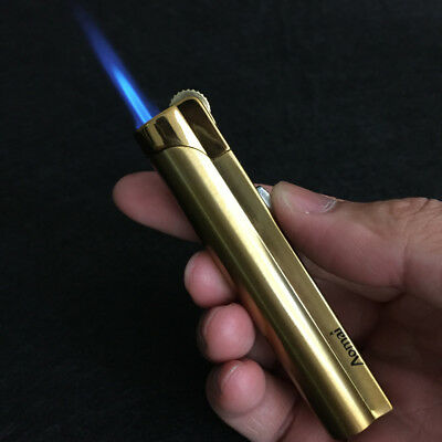 AOMAI 228 Jet Torch Adjustable Lockable Flame Cigar Cigarette Lighter Gold