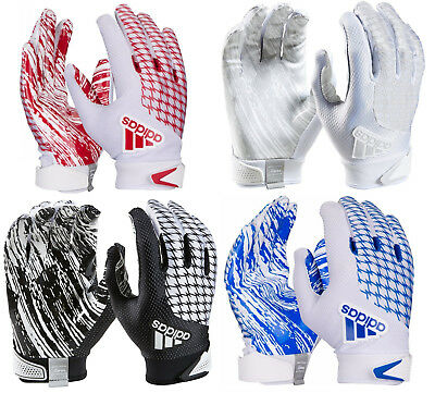 2018 Adidas adiFast 2.0 Men's Football Receivers Or Running Back Gloves Adult