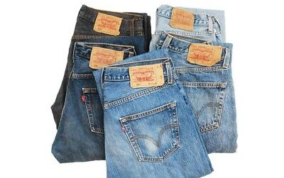 Random Vintage Denim Lee Levi's Wrangler Jeans Unisex Men Women