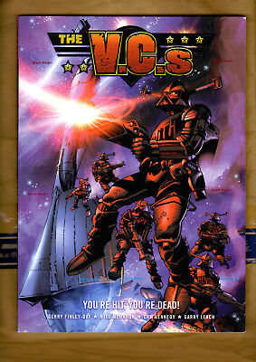 THE VCs - YOU'RE HIT YOU'RE DEAD! Finley-Day McMahon Kennedy Leach 2000AD TPB VG