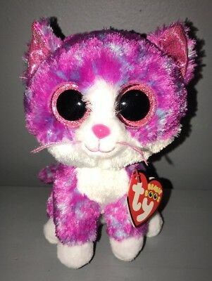Like us on Facebook · Ty Beanie Boos Charlotte Kitty Cat 6
