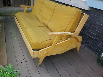 Canape day bed 1950 1960 guermonprez