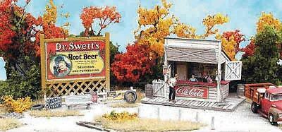 Bar Mills (HO) #952 SWANSON's LUNCH STAND - Laser Cut Kit