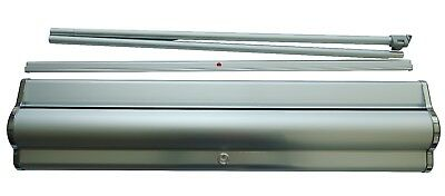 """PREMIUM Aluminum Retractable Roll Up Banner Stand Show Display reusable 33""""× 79"""""""