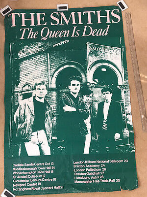 The Smiths The Queen is Dead Tour Poster 1986 (Ex.Rare)