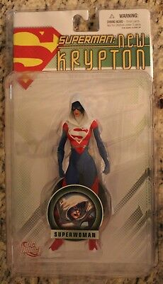 DC Direct Superman: New Krypton Series 1: SUPERWOMAN  Action Figure MOC