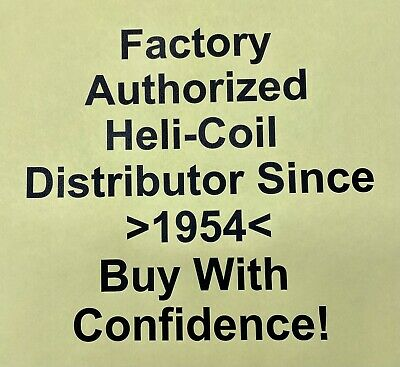 Helicoil 1688-06N 6-32 3B-H1; FREE Expedited Same Business Day Shipping!