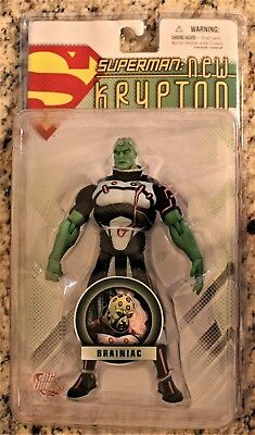 DC Direct Superman: New Krypton Series 1: BRAINIAC  Action Figure MOC RARE