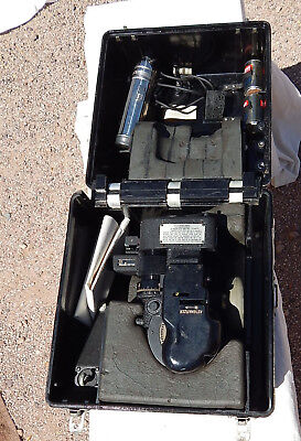 WW2 USAAF USN AN-5851-1 Bubble Type Aircraft Sextant,Black Case & Accessories