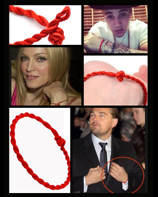 Red String of Faith Protection Love Lucky Kabbalah Minimal Bracelet Buddha Hindu