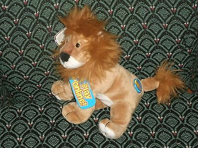 "Ty Midas The 2.0 Beanie Lion - 6"" Long - Unused Code- 2008 -Mwmt"