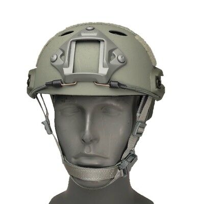 OPS-CORE FAST CARBON HIGH CUT HELMET Foliage Green ARC Rail VAS Shroud 59-99-222