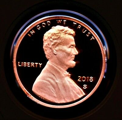 2018 S ONE (1) Lincoln Penny Cent HIGH GRADE Proof Coin GEM DCAM Stunning Coins