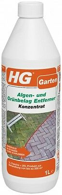 HG Seaweed and Green Covering Remover Concentrate moosentferner 1 LITRE
