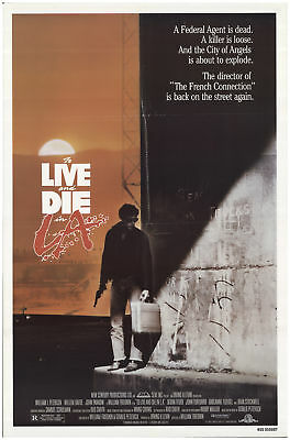 To Live and Die in L.A. 1985 27x40 Orig Movie Poster FFF-68844 Rolled