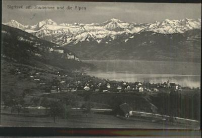 60757709 Sigriswil Sigriswil Thunersee x / Sigriswil /Bz. Thun