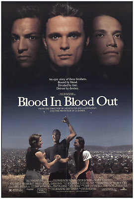 Blood in, Blood Out (aka Bound by Honor) 1993 27x40 Orig Movie Poster FFF-68720