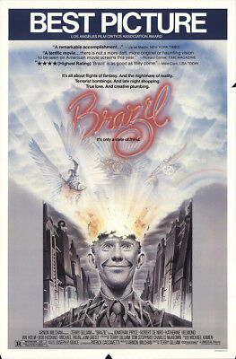 Brazil 1985 27x41 Orig Movie Poster FFF-52622 Rolled Robert De Niro