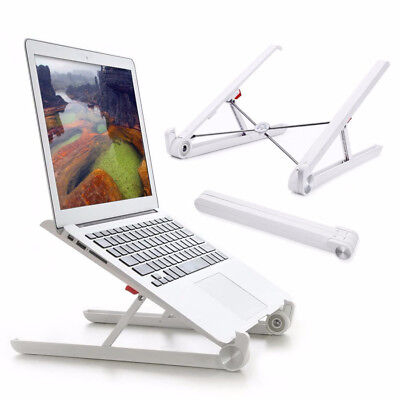 "Folding Laptop Notebook Table Desk Stand Mount Holder For 11-15.6"" PC Macbook"