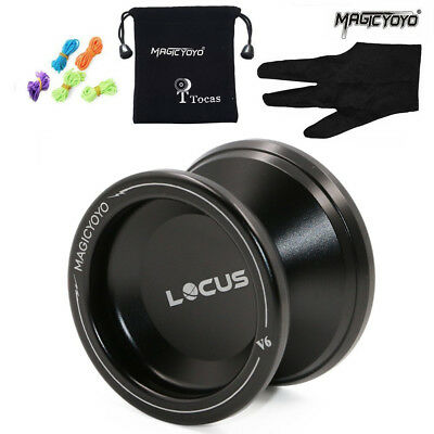 Responsive Magic Yoyo V6 Locus Spase Aluminum Metal Yoyos Ball for Beginners Kid
