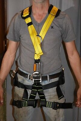 Body Harness , high end, for safety. repelling, etc VERY NICE  NEW,