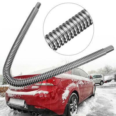 Car Parking Air Heater Tank Exhaust Pipe Diesel Gas Vent Hose Stainless Steel
