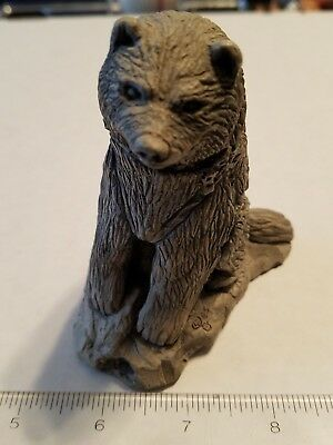 Glacial Ice Age Sculptures Arctic Circle Alaska Handcrafted Dog Figurine