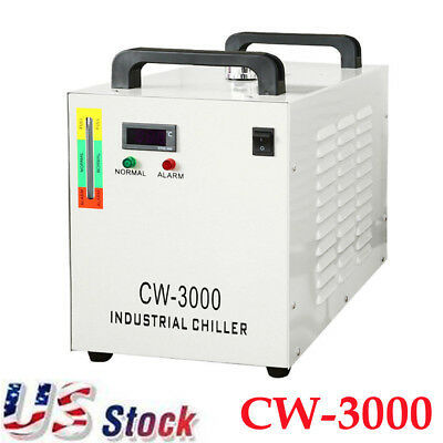 Thermolysis Industrial Water Chiller for One 50W CO2 Laser Tube CW-3000