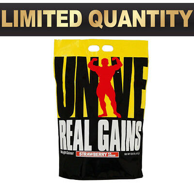 Universal Nutrition Real Gains 10.6Lbs // Weight Gainer Super Mass Gain