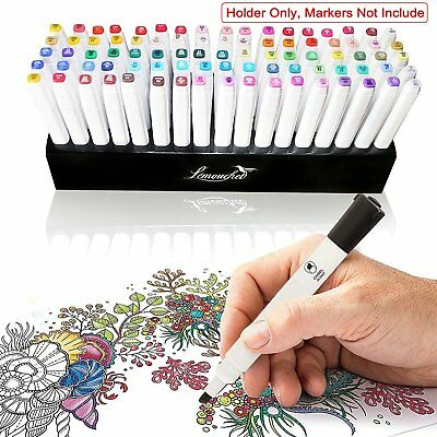85 Holes Pen Holder Organizer Stand for Copic Ciao Marker Pens Touch Twin Tips